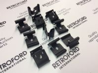 Ford Capri MK/3 New door belt/weatherstrip clips X 10